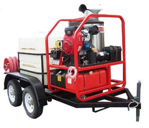 Where to find HOT WATER PRES WASHER ON TRAILER in Savannah