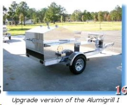 Rental store for TRAILER MOUNTED GAS GRILL in Savannah GA